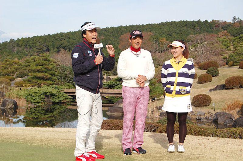 当ゴルフ場で好評放映中の「チームセリザワ」の収録がありました。